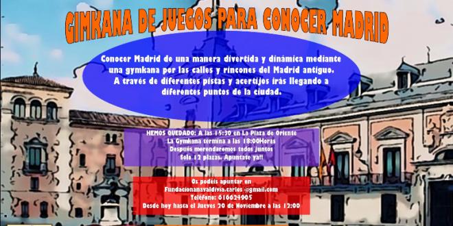 Gimkhana «Conocer Madrid»
