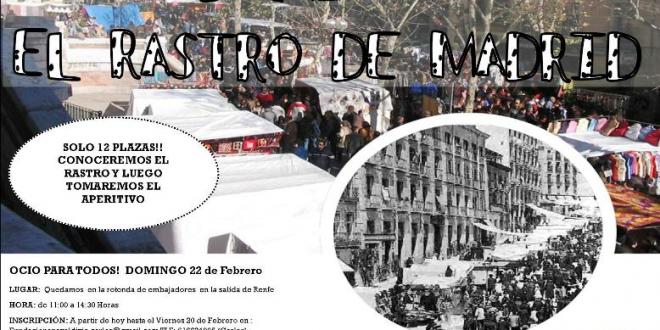 Un domingo en El Rastro de Madrid
