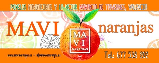 Mavi Naranjas, la naranja solidaria