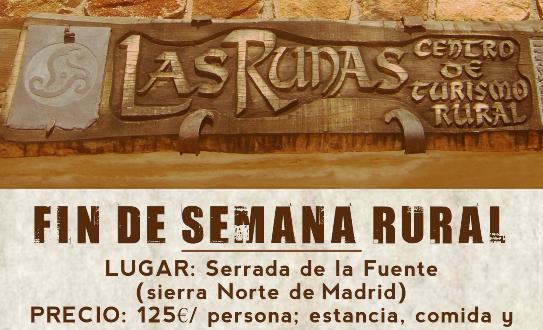 Fin de semana rural en Serrada de la Fuente