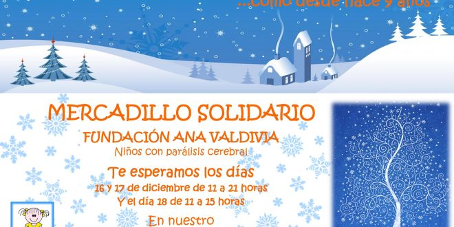 9º Mercadillo Solidario de la Fundación Ana Valdivia