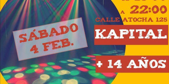 Tarde – noche en Kapital Young para chicos y chicas+14
