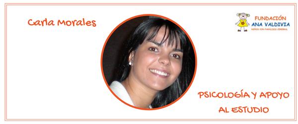 Carla Morales. Psicología y Apoyo al Estudio