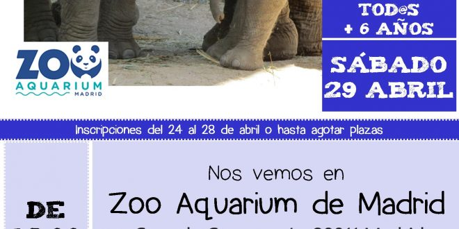 Visita al Zoo Aquarium de Madrid