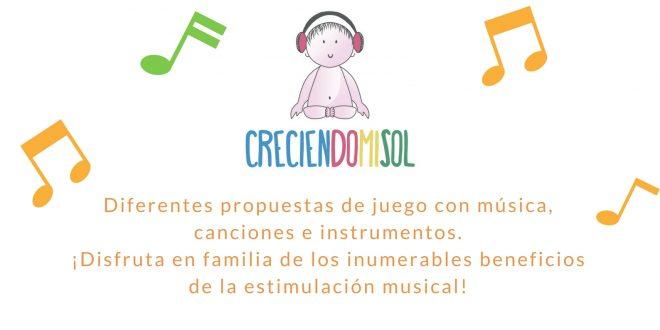 Estimulación musical en familia de la mano de CreciendoMiSol