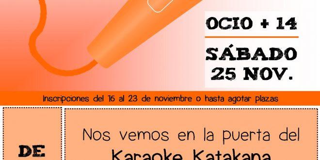 Karaoke Katakana, ¡el escenario es nuestro!