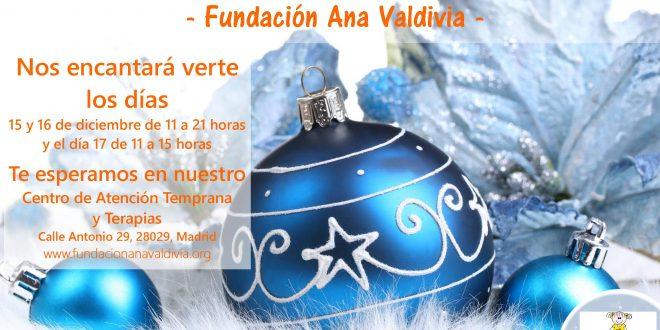 10º Mercadillo Solidario de la Fundación Ana Valdivia.