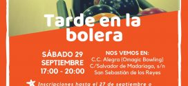 Tarde de bolos con la Fundación Ana Valdivia