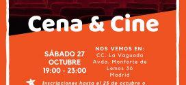 Despedimos octubre: cena & cine +14 años