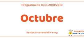 Actividades de Ocio para el mes de Octubre