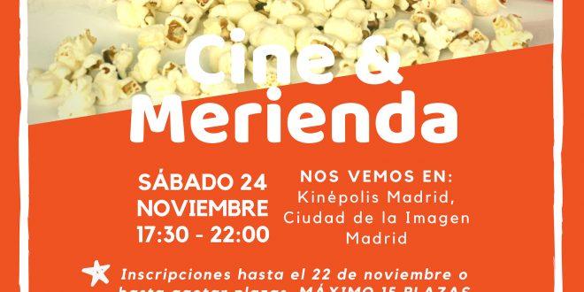Tarde de Cine & Merienda para todos los públicos