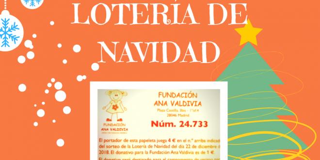 Lotería de Navidad de la Fundación Ana Valdivia