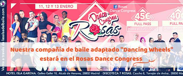 Dancing Wheels bailará el próximo 12 de enero en Alcalá de Henares
