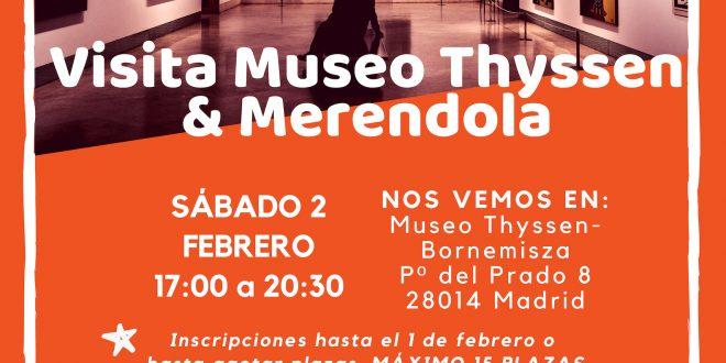 Visita al Museo Thyssen y Merendola