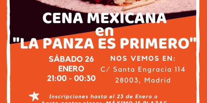 Cena Mexicana en La Panza es Primero, ¡vente, ándale!