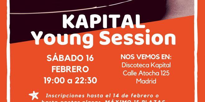 Ocio para +14: Kapital Young, ¡allá vamos!