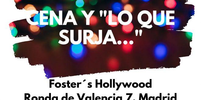 Party Night +18 con la Fundación Ana Valdivia: de cena y lo que surja!!