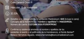 Semana Solidaria Mediolanum: cena benéfica a favor de la Fundación Ana Valdivia