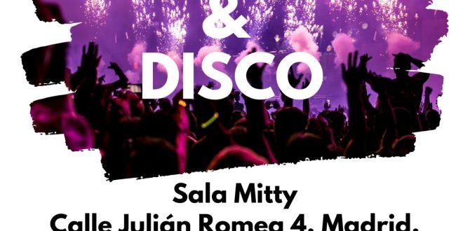 Ocio para +18 con la Fundación Ana Valdivia: Cena & Disco en Madrid