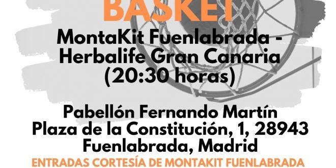 Programación de febrero y Ocio para Todos: Merienda & Basket (Liga Endesa) en Fuenlabrada