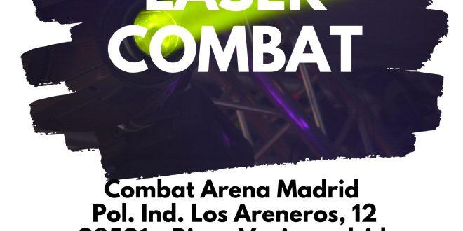 Ocio +12 con la Fundación Ana Valdivia: Láser Combat & Comida