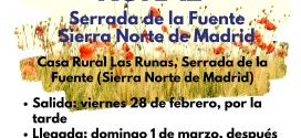 Ocio +18 con la Fundación Ana Valdivia: Fin de semana rural en Serrada de la Fuente
