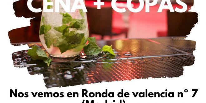 Ocio para +18 con la Fundación Ana Valdivia: Cena & Copas
