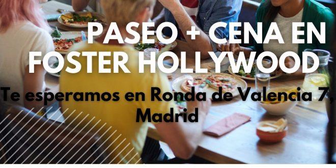 Ocio para tod@s con la Fundación Ana Valdivia: paseo y cena por Madrid