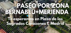 Ocio para tod@s con la Fundación Ana Valdivia: paseo y merienda por la zona del Bernabeu